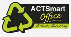The ACTSmart office recycling logo